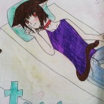 This picture was draw by Christiue Cusias *I hope I spelt your name right Q^Q*