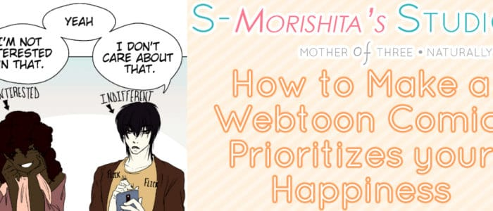 how to make a webtoon