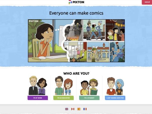 make an online comic book
