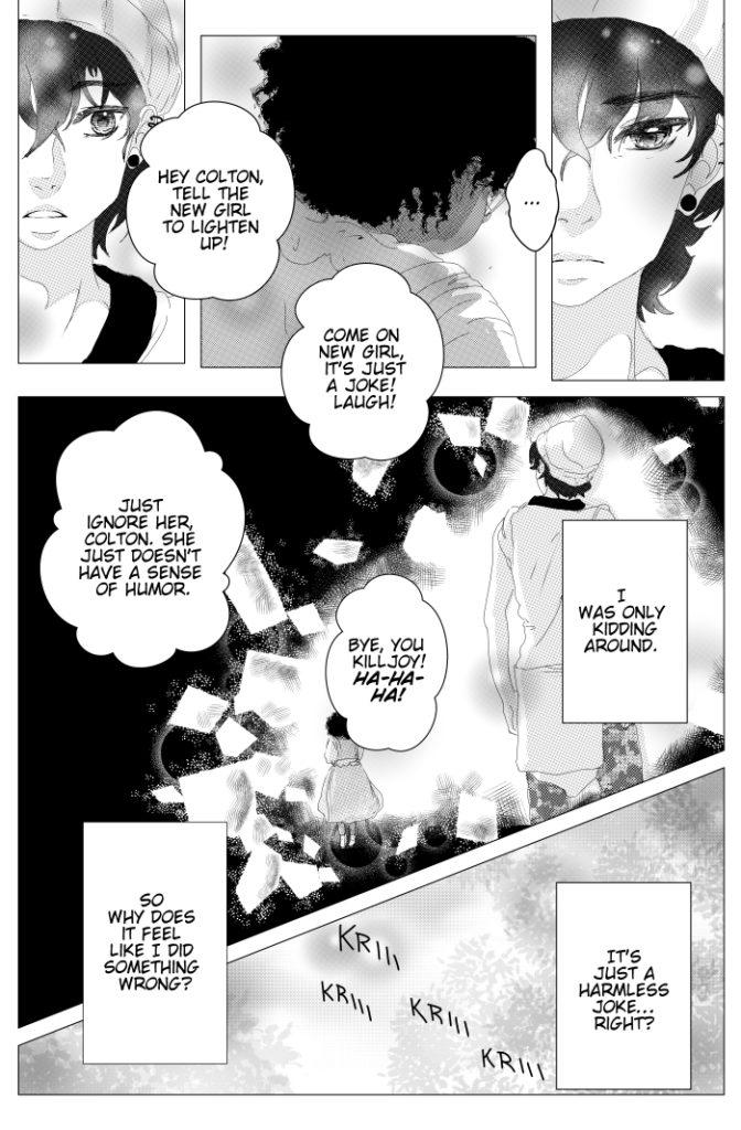Sad Cute Shojo Manga girl